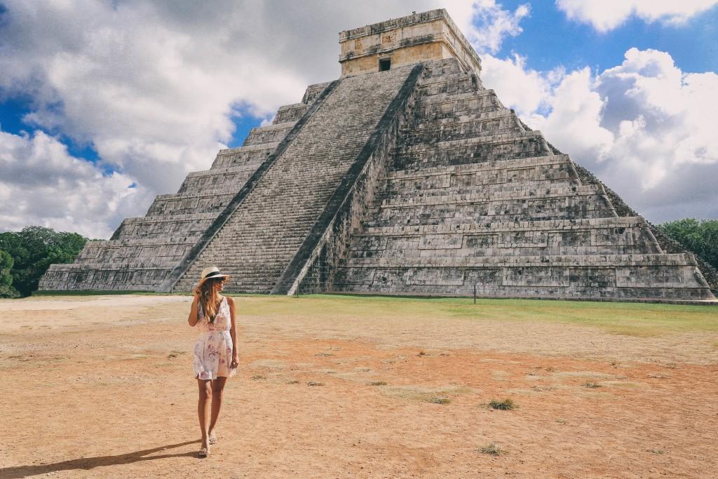 Mexico: Chichen Itza, Cenote Ik Kil & Valladolid