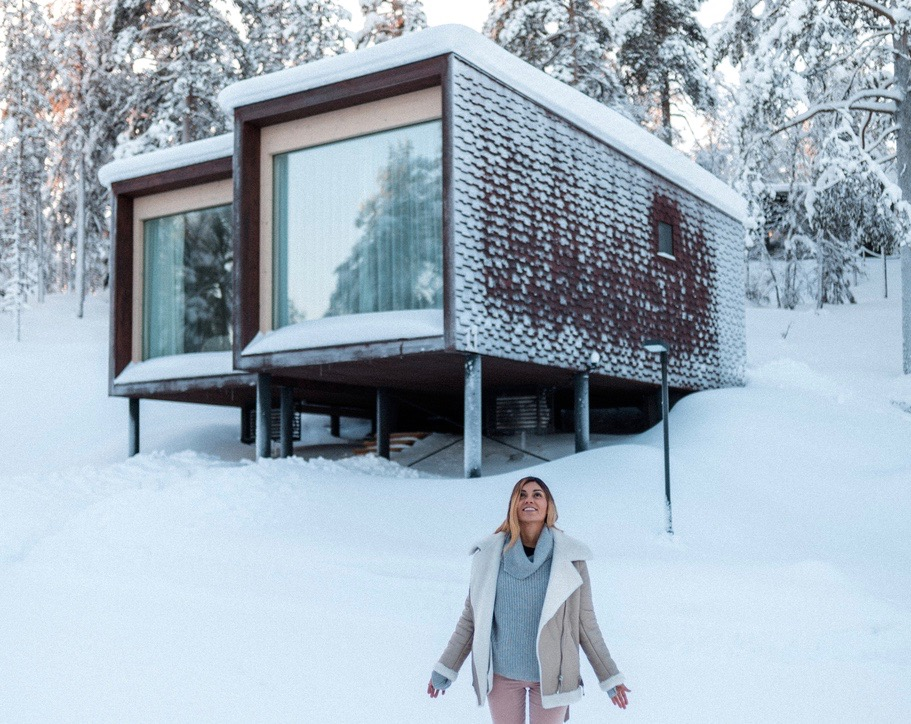 Arctic Treehouse Hotel:  A Nest in the Finnish  Wilderness