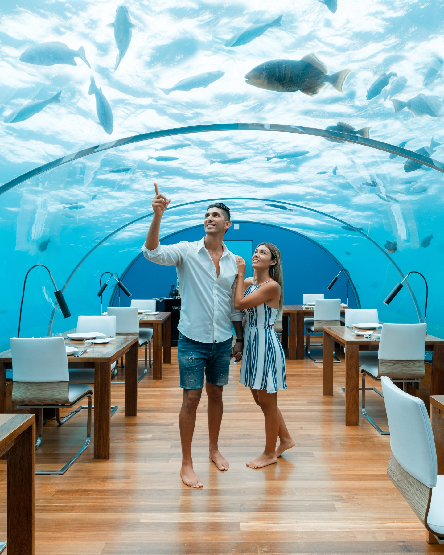 Conrad Maldives Rangali Island: Family Friendly & Active Relaxation in the Maldives